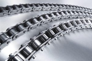 Роликовые цепи с боковым изгибом