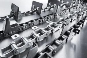 Тяговые пластинчатые конвейерные цепи (Conveyor chains)
