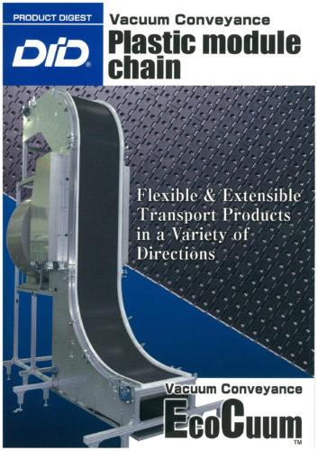 Vacuum conveyor & Plastic module chain Brochure-1