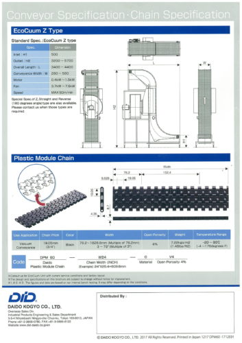 Vacuum conveyor & Plastic module chain Brochure-4