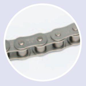 Цепи с никелированными пластинами